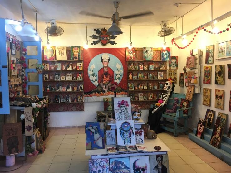 In Tulum gibt es kleine Läden zu entdecken